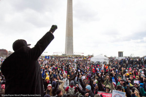The February 17 anti-Keystone XL protest