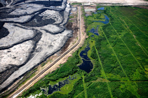 Tar Sands--Photo Credit: Jiri Rezac/Greenpeace