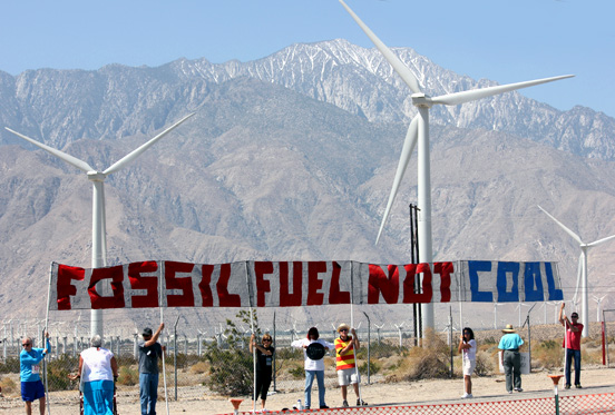 Fossil Fuel Not Cool (cc photo: Darel Propst)