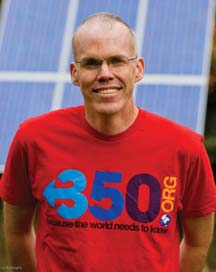Bill McKibben of 350.org laid out the math on why we must quit fossil fuels.