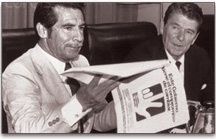 "Reagan: ""I know that President Rios Montt is a man of great personal integrity and commitment."""