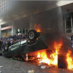 Burning car falsely presented as Trayvon Martin riot