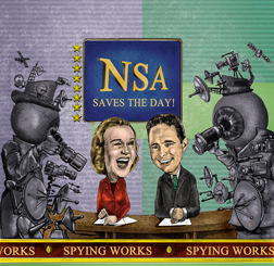 NSA Saves the Day! Cartoon