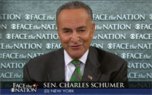 "Sen. Charles Schumer: ""Security is very, very important, and... the agencies in charge are darned good."""