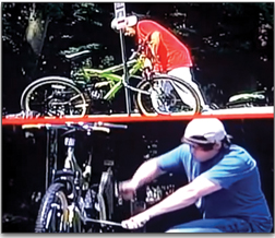 "In an experiment staged by ABC News, passerby had very different reactions to black and white men ""stealing"" a bike."