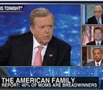 All-male debate on Fox: Is the rise in breadwinner moms undermining social order, or is it dissolving society?
