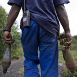 Collecting unexploded weaponry in the Congo--UN Photo/Sylvain Liechti