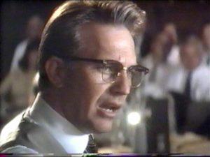 Kevin Costner as Jim Garrison in 'JFK'
