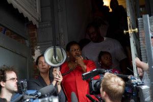 Anti-foreclosure activism, Bed-Stuy, Brooklyn. (cc photo: Michael Premo)