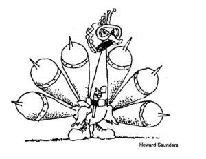 Nuclear Peacock (Howard Saunders)