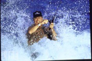 George H.W. Bush fishing
