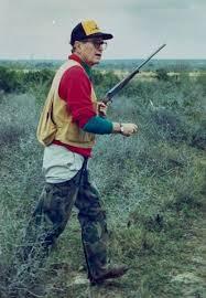 George H.W. Bush hunting