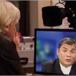 Jullian Assange interviews President Rafael Correa on World Tomorrow, May 22, 2012.