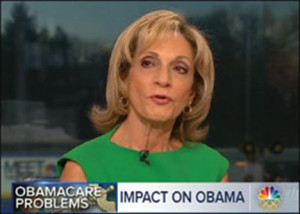 """NBC's Andrea Mitchell is very concerned about preserving the government's ability to be an """"agent of change."""""""