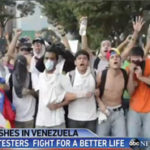 ABC News (2/23/14) suggests you should be against Venezuelan protesters if you are opposed to a better life.