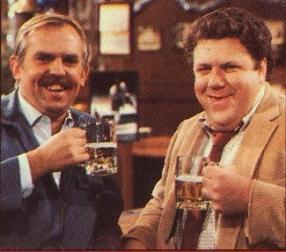 Cast members of Cheers