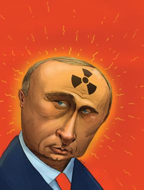 Putin, by Jem Sullivan