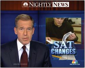NBC Nightly News, SAT