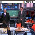 MSNBC, Morning Joe, charter schools