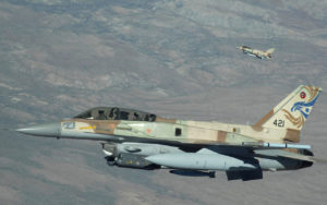 Israeli F16s (photo: Kevin J. Gruenwald/USAF)