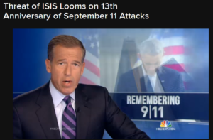 NBC Nightly News links ISIS, 9/11