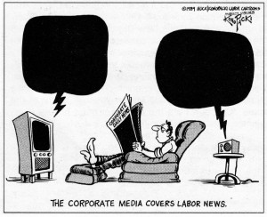 The corporate media covers labor news (Konopacki)