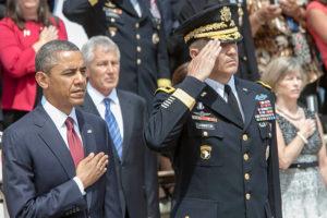 Obama observing Memorial Day