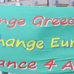 Change Greece, Change Europe (Photo: Uwe Hiksch)