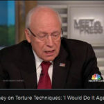 Dick Cheney on Meet the Press: 'I would [torture] again.'