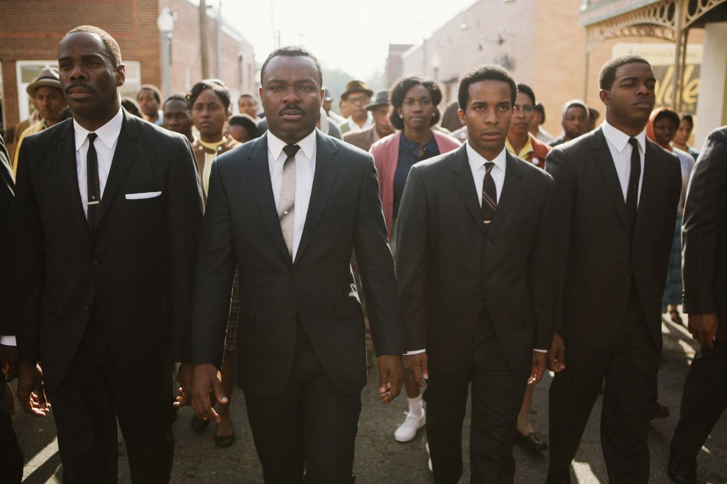 Protest march in the film Selma