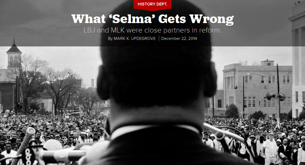 """Politico: """"What 'Selma' Gets Wrong"""""""
