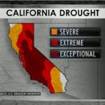 CBS News: California Drought Map