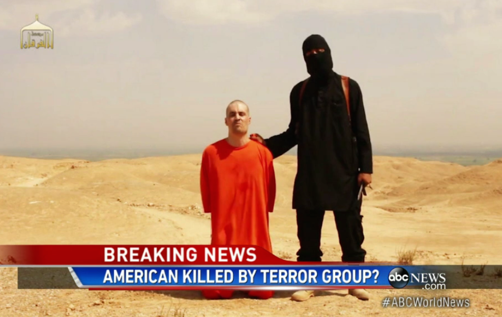 ABC covers James Foley death