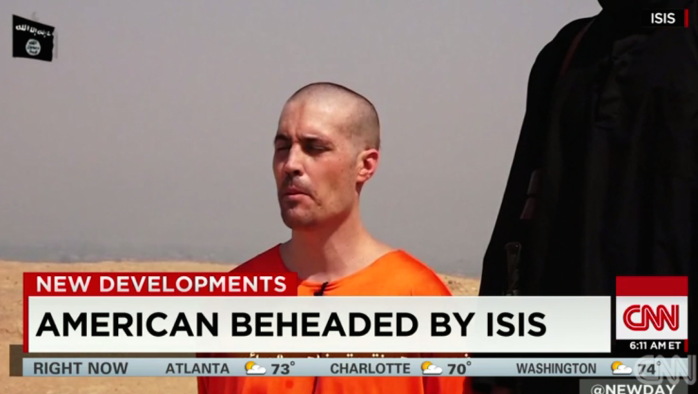 CNN covers James Foley death