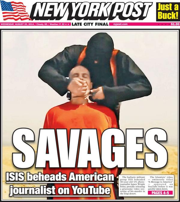 New York Post: Savages