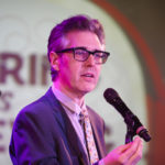 Ira Glass at Hearing Is Believing (photo: Mattew Septimus/NPR)