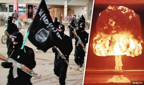 London Express: ISIS and mushroom cloud