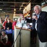 Bernie Sanders in Iowa (photo: Ryan Hendrikson/NYT)
