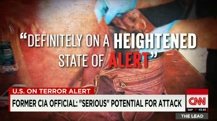 CNN: US on Terror Alert