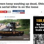 Washington Post: As women keep washing up dead, Ohio town fears a serial killer is on the loose