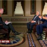 John Dickerson interviewing Ernest Moniz and John Kerry on Face the Nation