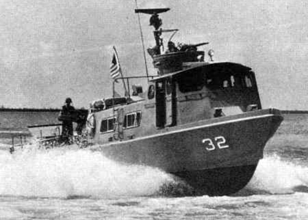 Vietnam-era swift boat