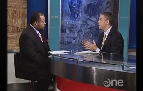"""Arne Duncan tells TV One's Roland Martin that Katrina was the """"best thing that happened to the education system in New Orleans."""""""