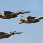 Saudi Arabia's US-made fighter jets (photo: Fayez Nureldinefayez-Nureldine/AFP)
