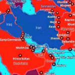 US military bases in the Middle East (source: Juan Cole)