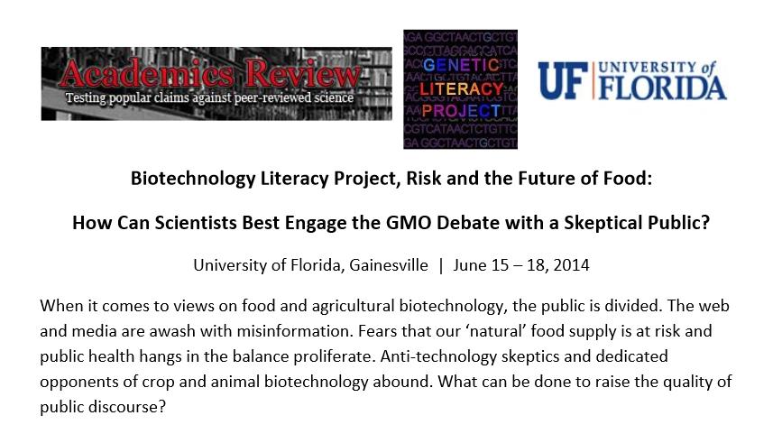 Biotechnology Literacy Project prospectus