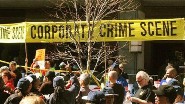 Corporate Crime Scene