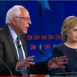Bernie Sanders and Hillary Clinton debate