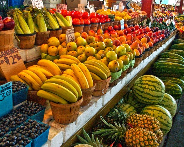 Fruit, Dallas farmer's market (cc photo: Allen Sheffield)
