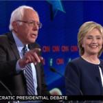 Bernie Sanders, Hillary Clinton debate